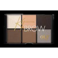 Набор для бровей Kit Brow тон 01 OLY style