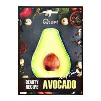 Маска подтягивающая BEAUTY RECIPE Avocado Quret