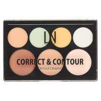 Палетка для контурирования кремовая Correct&Contour LN Professional
