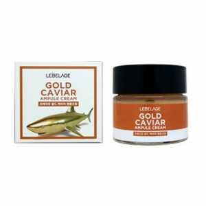 Ампульный крем для лица с экстрактом икры, 70 мл Gold caviar LEBELAGE