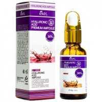 Сыворотка с гиалуроновой кислотой Premium Ampule Hyaluronic Acid, 30 гр EKEL