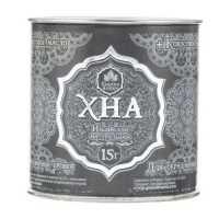 Хна индийская натуральная для бровей и биотату Grand Henna+ кокосовое масло (графит) 15 гр
