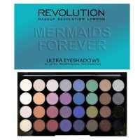 Палетка теней Ultra 32 Shade Eyeshadow Palette Mermaids Forever Makeup Revolution