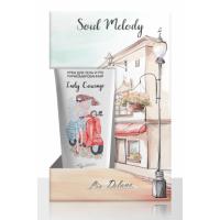 Подарочный набор Lady COURAGE (Гель д/душа 250г+ Крем для тела/рук 200мл) Liv Delano