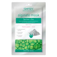 """""""Против акне"""" моделирующая альгинатная маска для лица, шеи и области декольте (чайное дерево+цинк) SHARY"""