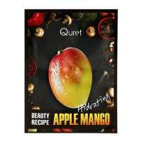 Маска увлажняющая BEAUTY RECIPE Apple Mango Quret