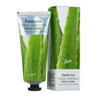 Крем для рук с алоэ Visible Difference Aloe Hand Cream, 100 мл Farmstay