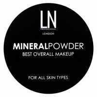 Рассыпчатая пудра для лица Mineral Powder, 12 г LN professional
