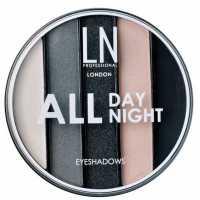 Тени для век 5 оттенков All Day All Night, 02 LN professional