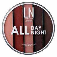 Тени для век 5 оттенков All Day All Night, 03 LN professional