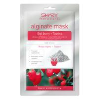 """""""Тонус и упругость"""" моделирующая альгинатная маска для лица, шеи и области декольте (ягоды годжи+таурин) SHARY"""
