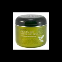 Крем для лица увлажняющий с семенами зеленого чая, 100 г Green Tea Seed Whitening Water Cream Farmstay