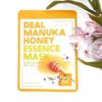 Тканевая маска для лица с экстрактом меда Манука Real Manuka Honey Essence Mask Farmstay