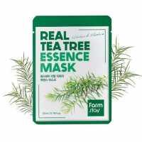 Тканевая маска для лица с экстрактом чайного дерева Real Tea Tree Essence Mask Farmstay