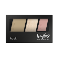 Палетка для контуринга 03- rose beige FEW STEPS LAVELLE