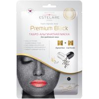 Гидроальгинатная маска Premium Black ESTELARE
