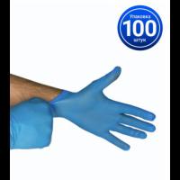 Перчатки неопудренные vinil/nitrile blend gloves, 100 шт