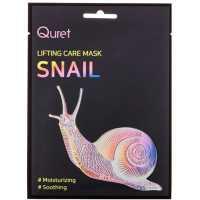 Маска с эффектом лифтинга Lifting Care Mask Snail Quret
