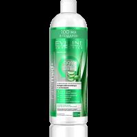 Мицеллярная вода освежающе-успокаивающая с Алоэ Вера 500 ml FaceMed+ EVELINE