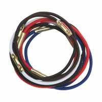 Резинки для волос цветные, миди (10 шт.) DEWAL RE023