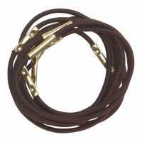 Резинки для волос коричневые миди (10 шт.) DEWAL RE025