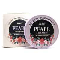 Патчи для глаз с маслом ши и жемчугом Koelf Pearl Shea Butter Eye Patch 60 шт.